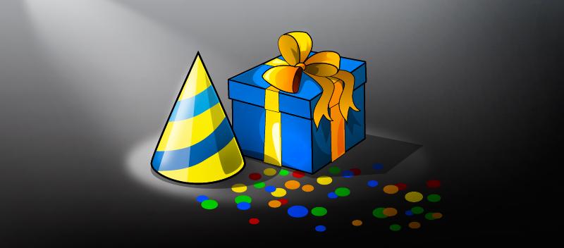 Подарок в игре РеРайс к Дню Рождения игроков
